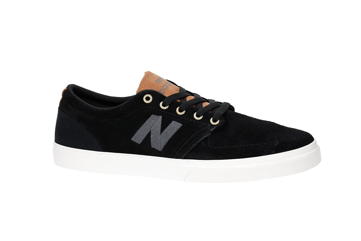 New Balance Numeric 345 Shoes (black white brown)