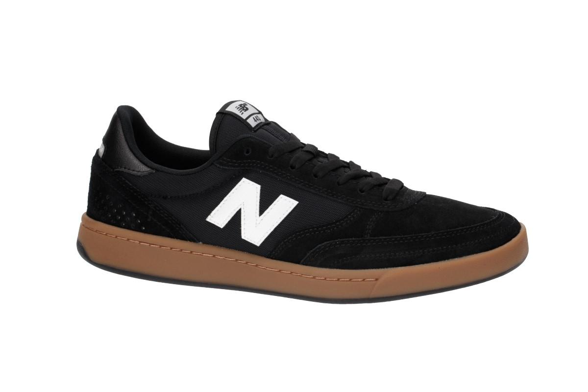New Balance Numeric 440 Shoes (black grey gum)