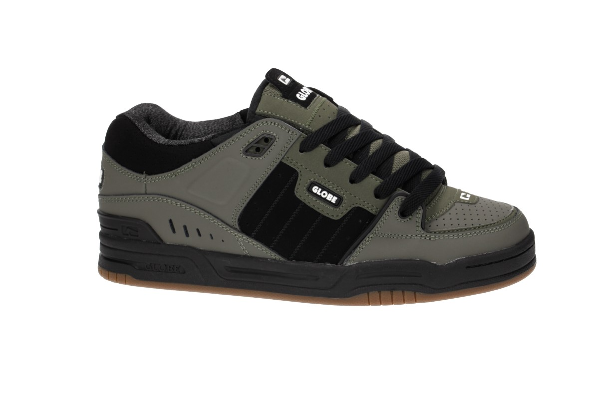 Globe Fusion Shoes (dusty olive black)