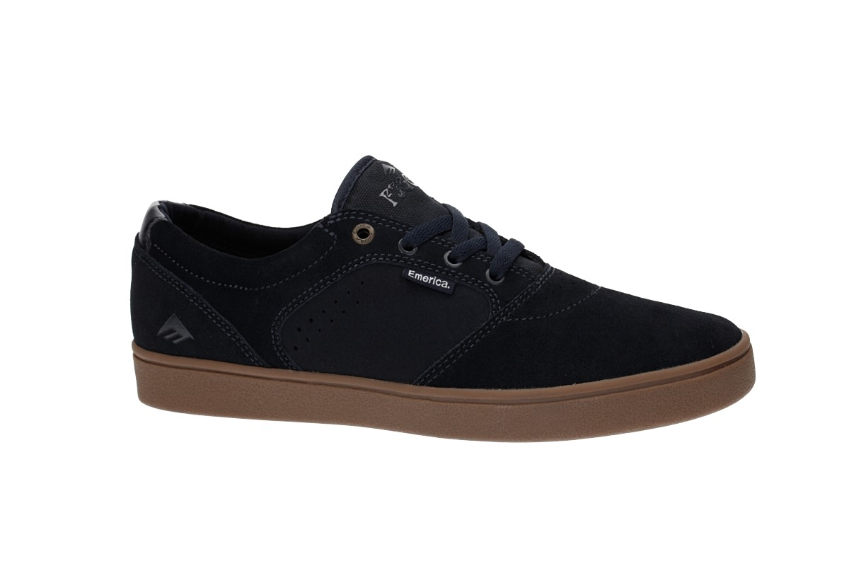 Emerica Figgy Dose Shoes (navy gum)