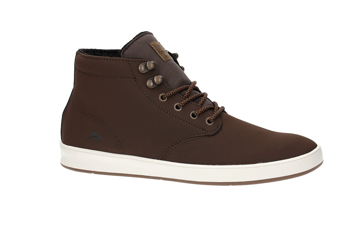 Emerica Romero Laced High Schuh weatherized (brown)