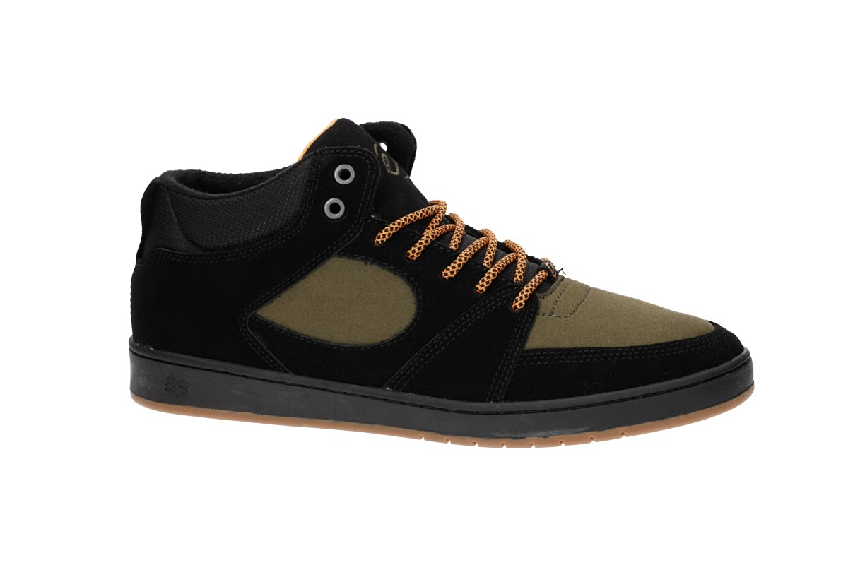 éS Accel Slim Mid Schuh weatherized (black brown)