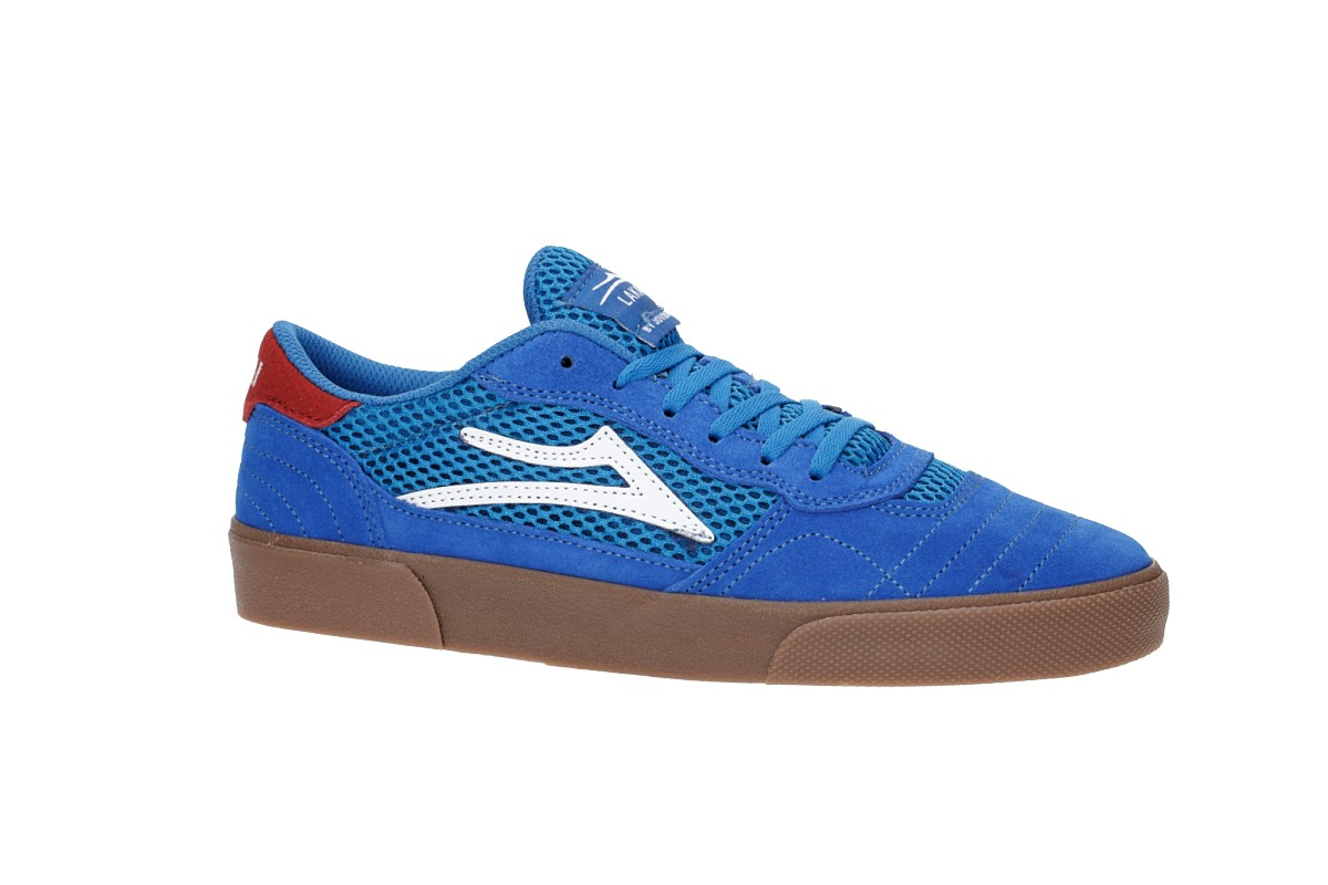 Lakai Cambridge Turner Suede Shoes (blue gum)