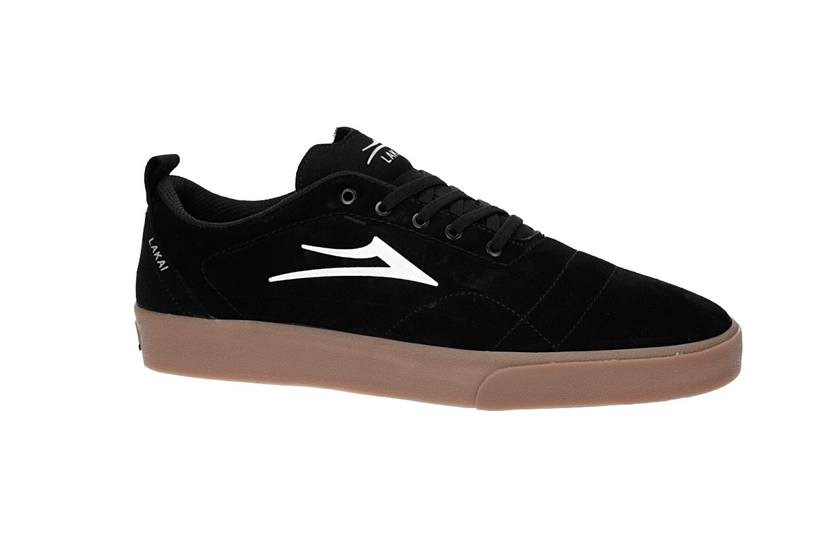 Lakai Bristol Suede Shoes (black gum)