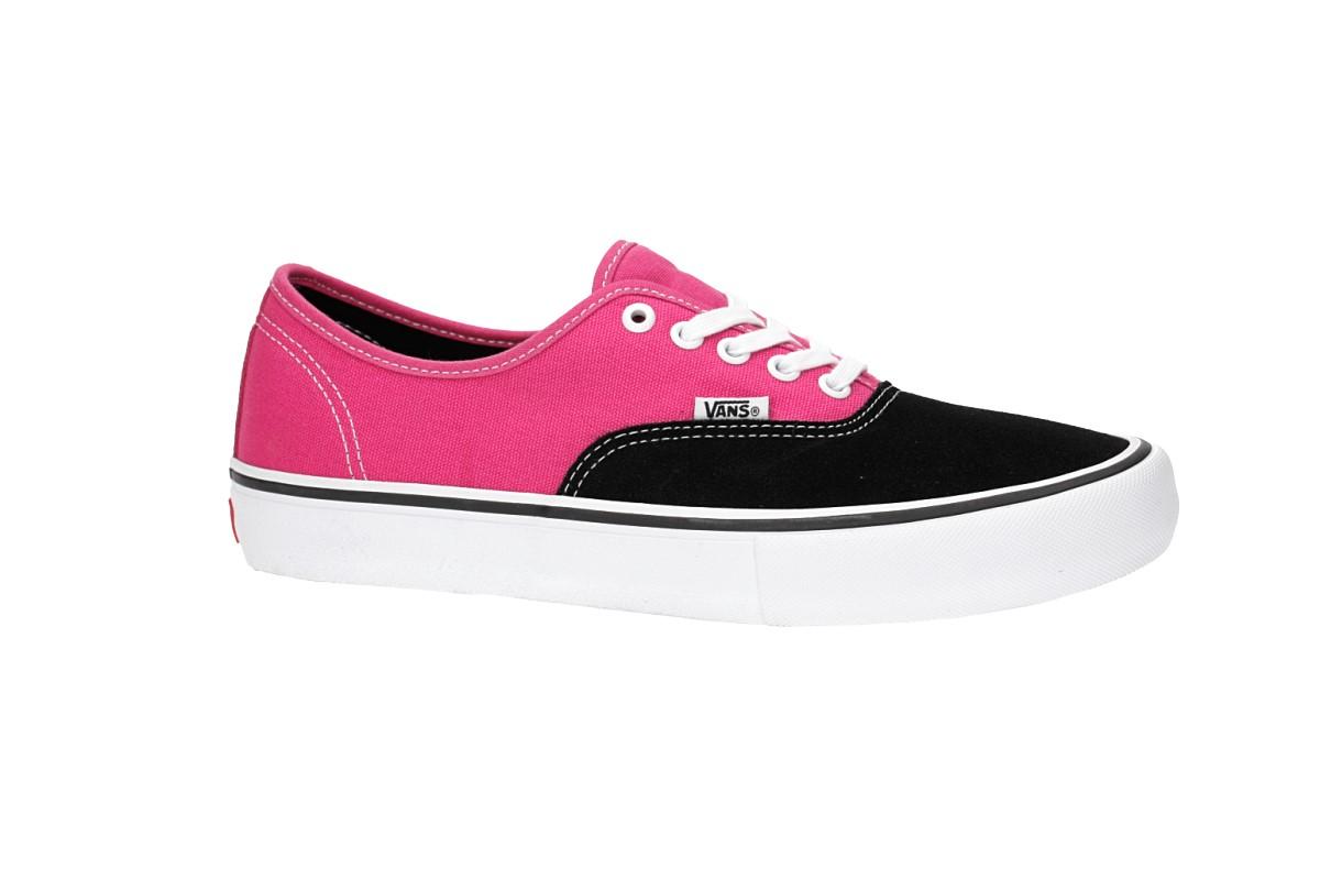 Vans Authentic Pro Shoes (black magenta)