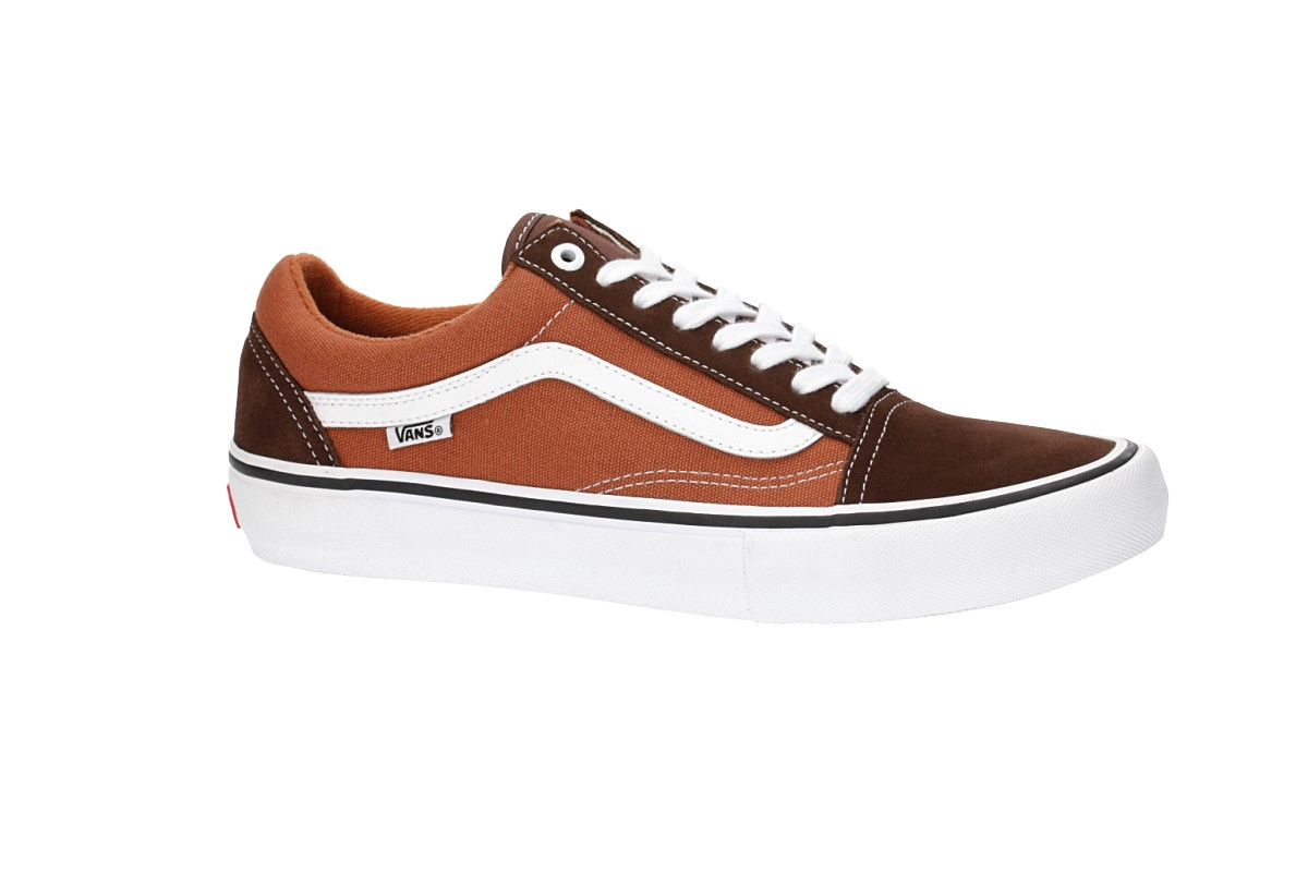 Vans Old Skool Pro Chaussure (potting soil leather brown)