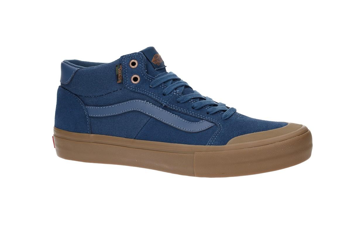 e40d965b2e8 Vans Style 112 Mid Pro Shoes (camouflage dark denim gum) buy at ...