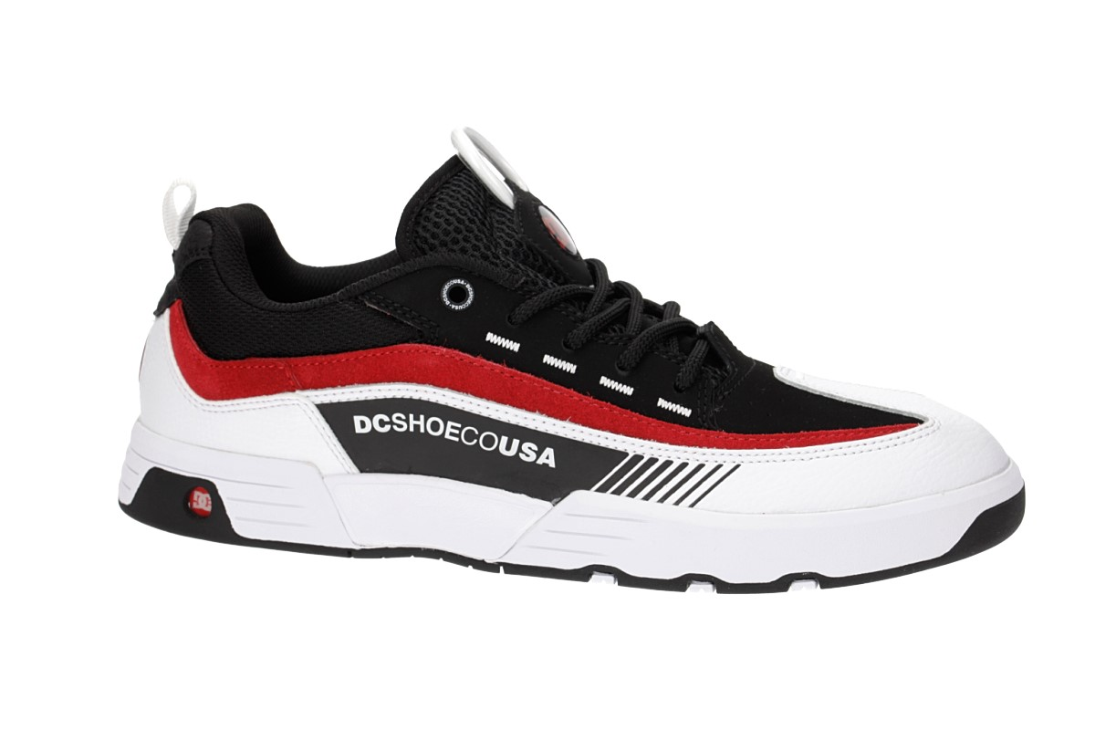DC Legacy 98 Slim Schuh (black white red 2)
