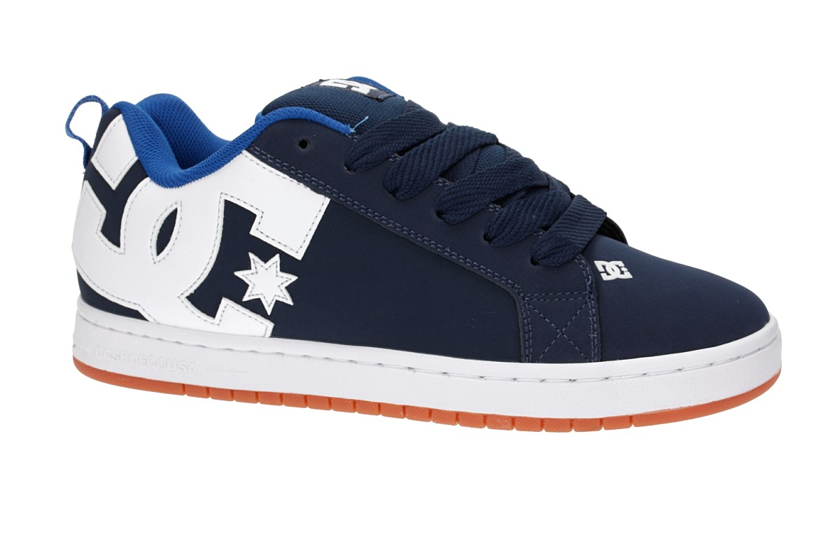 DC Court Graffik Schoen (navy royal)