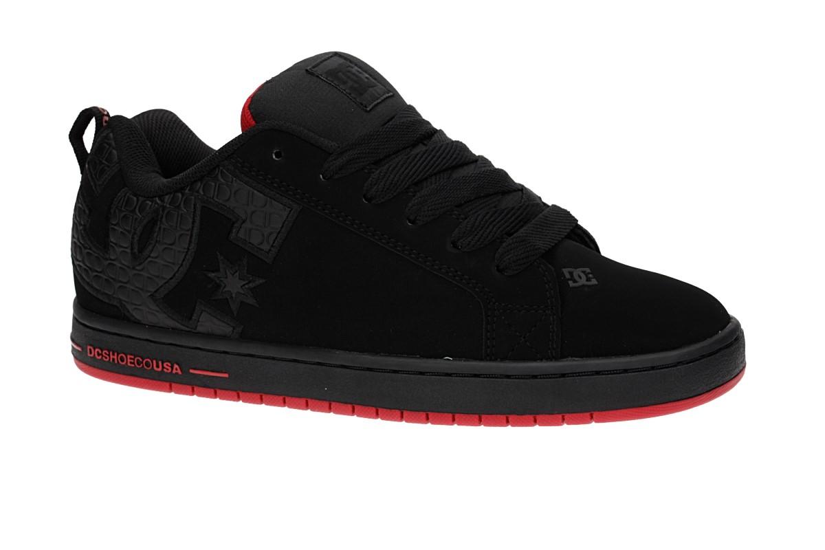 DC Court Graffik SE Zapatilla (black red black)