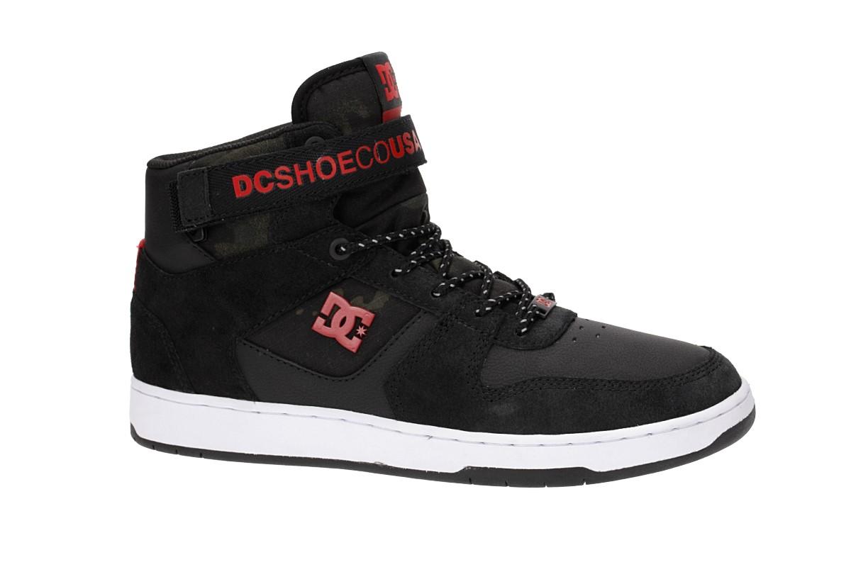 DC Pensford SE Shoes (black white red)
