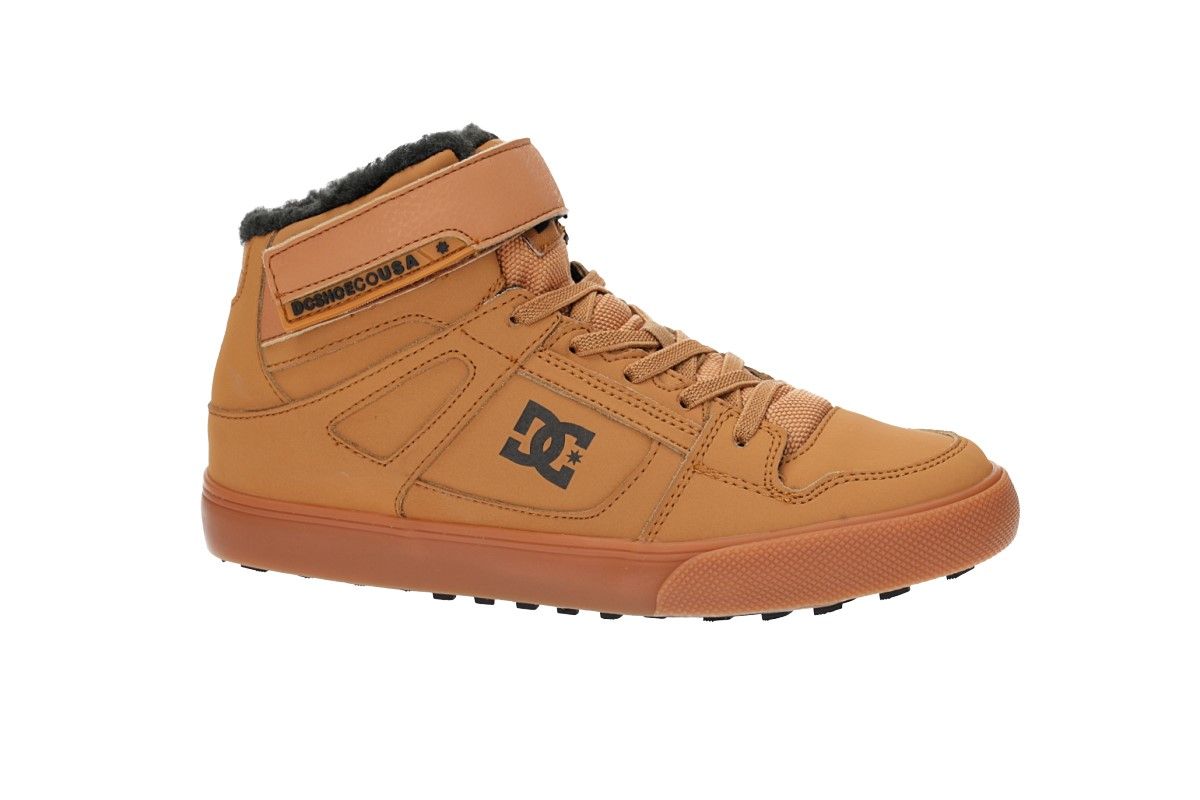 DC Pure High Top WNT EV Schuh kids (wheat)