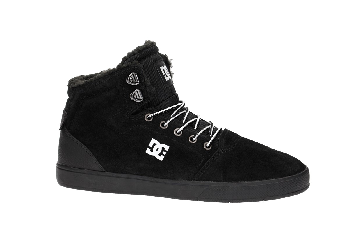 DC Crisis High WNT Shoes (black white black)