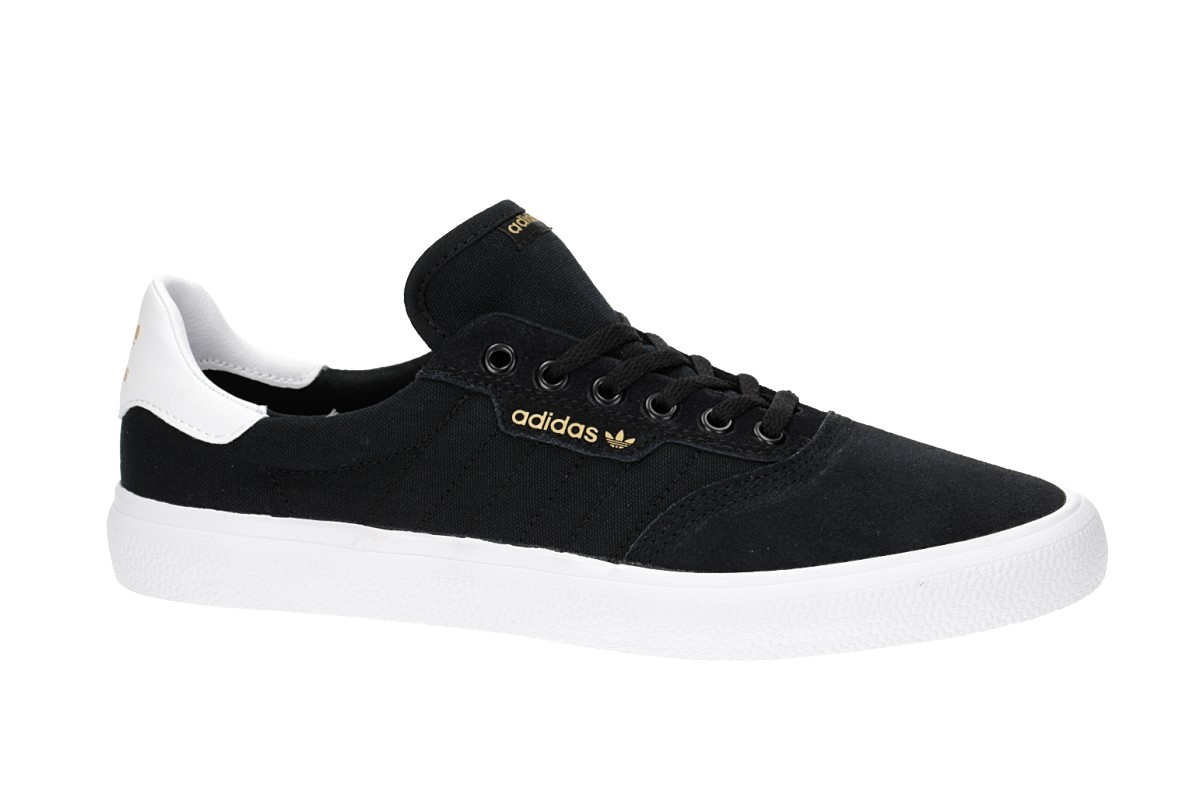 adidas Skateboarding 3MC Suede Schoen (core black white)