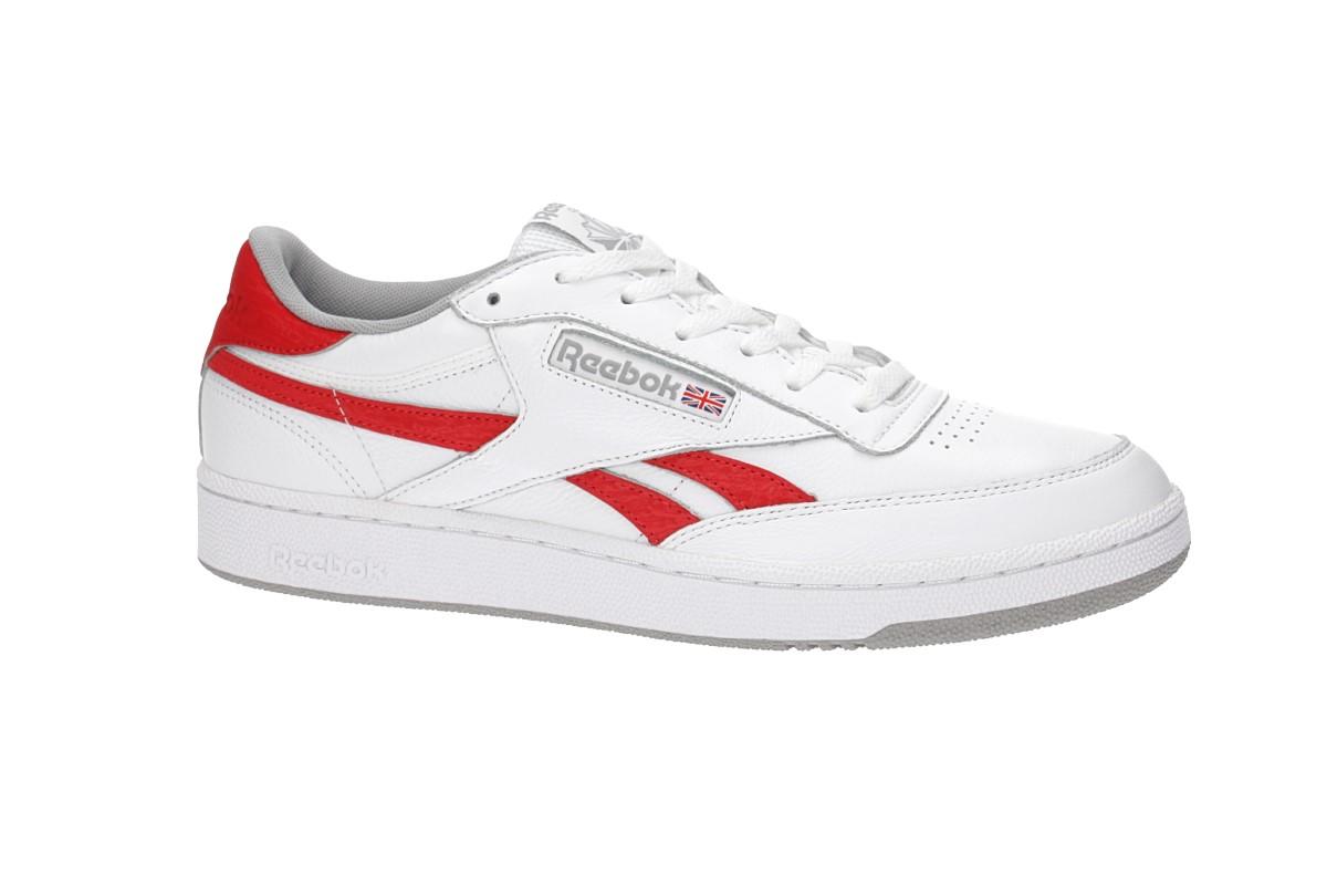 reputable site 1153a fc13b Reebok Revenge Plus MU Shoes (white primal red)