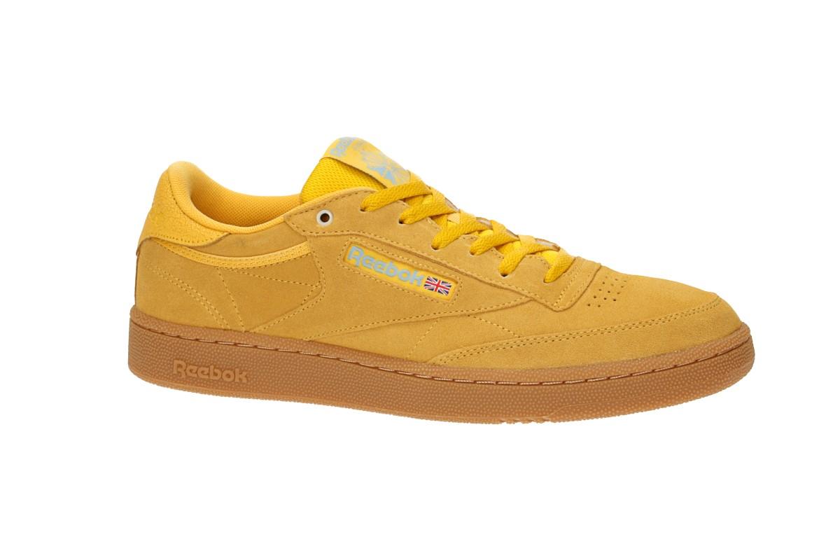 Reebok Club C 85 Shoes (white green) buy at skatedeluxe