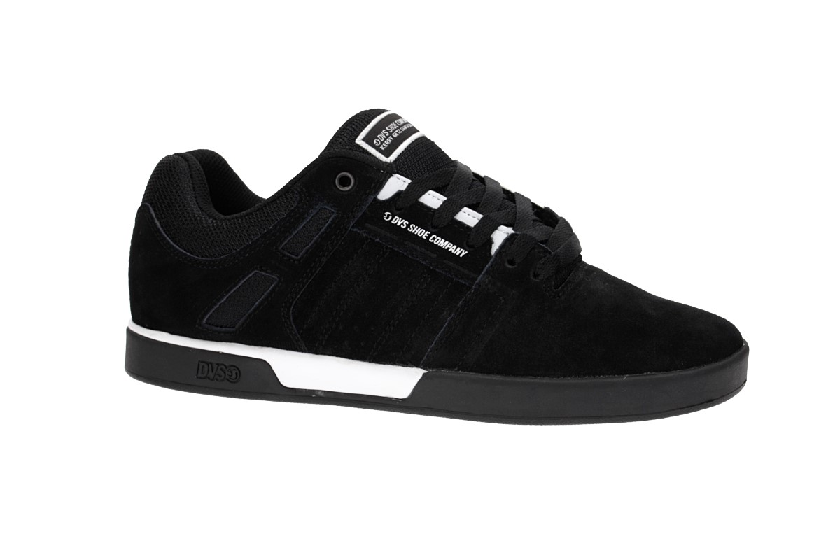 DVS Drift+ Suede Shoes (black white black)