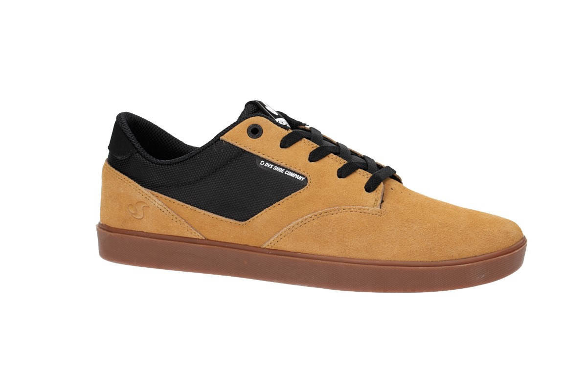 DVS Pressure SC+ Suede Shoes (chamois black chico)