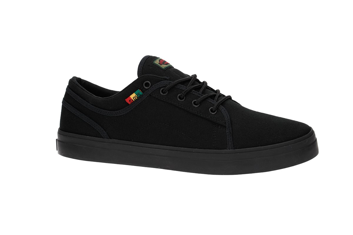 DVS Aversa+ Canvas Shoes (black rasta)