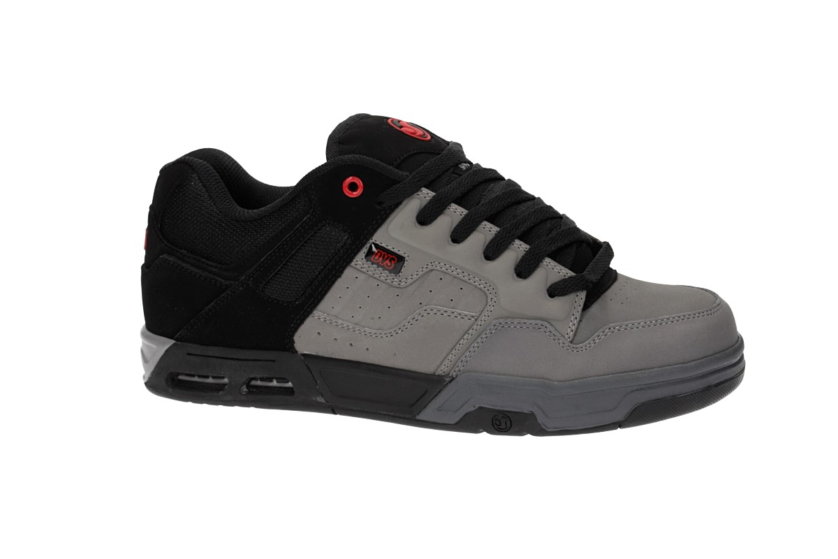 DVS Enduro Heir Nubuck Shoes (charcoal grey black)