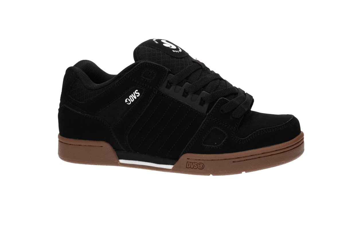 DVS Celsius Nubuck Shoes (black white gum)
