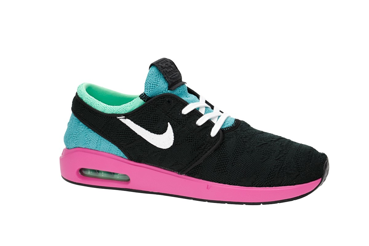 Nike SB Air Max Janoski 2 Schuh (black white cabana) kaufen