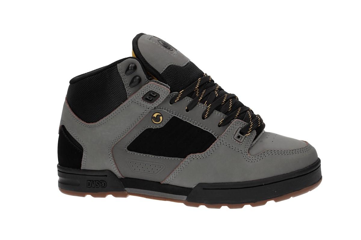 4576f229022c DVS Militia Boot Nubuck Shoes (charcoal black gold)
