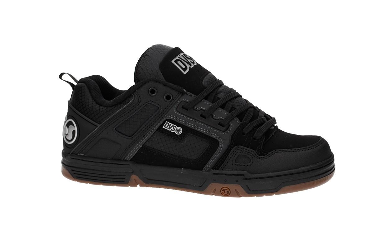 DVS Comanche Nubuck Shoes (black white gum)