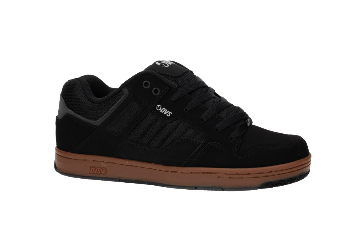 DVS Enduro 125 Nubuck Shoes (black reflective gum)