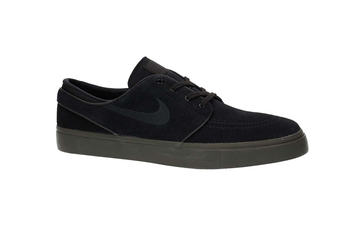 Nike SB Zoom Stefan Janoski Shoes (black black sequoia)