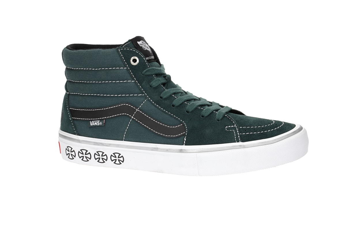 eeb234dd52 Vans x Independent SK8-Hi Pro Shoes (spruce) buy at skatedeluxe