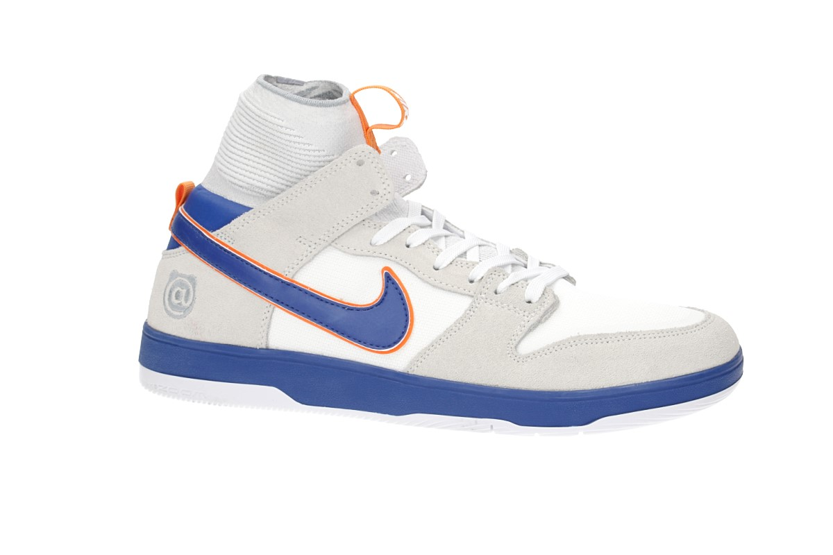 Nike SB x Medicom Dunk High Elite QS Chaussure (white college blue)