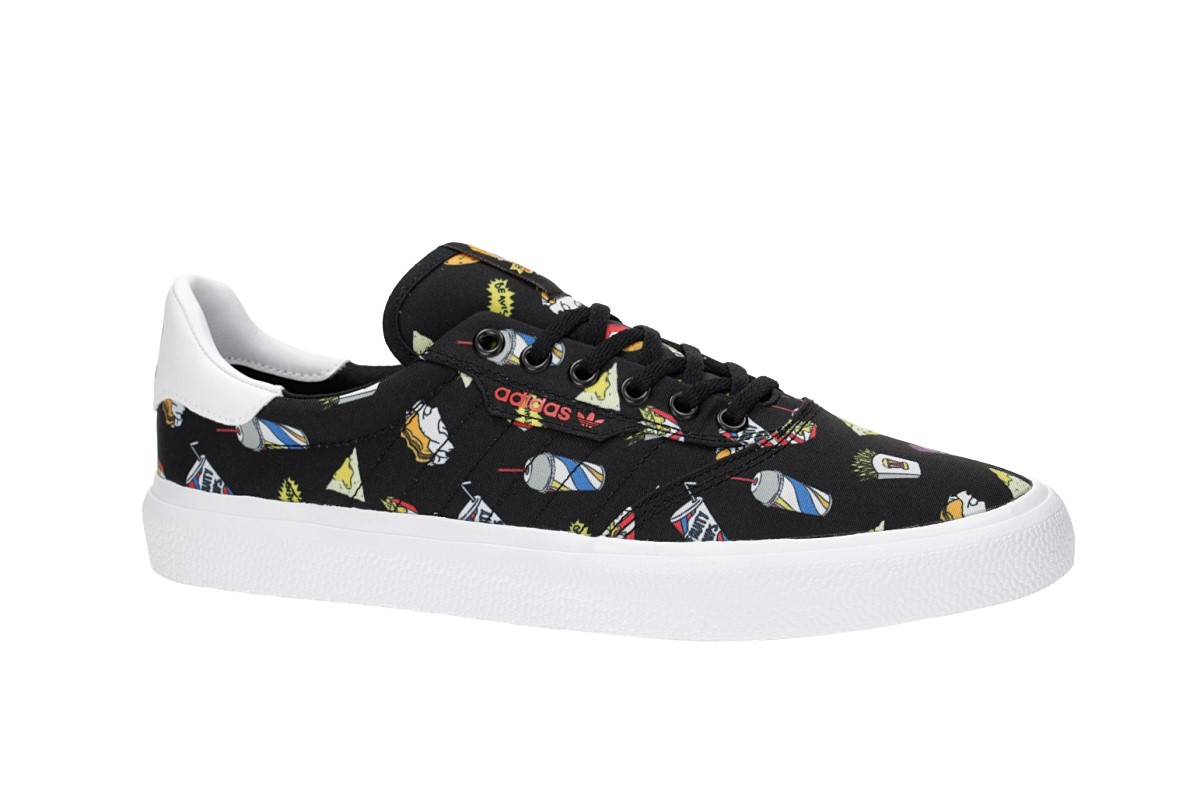 new product 48643 a2c40 adidas Skateboarding x Beavis  Butthead 3MC Shoes (core black white  scarlet)