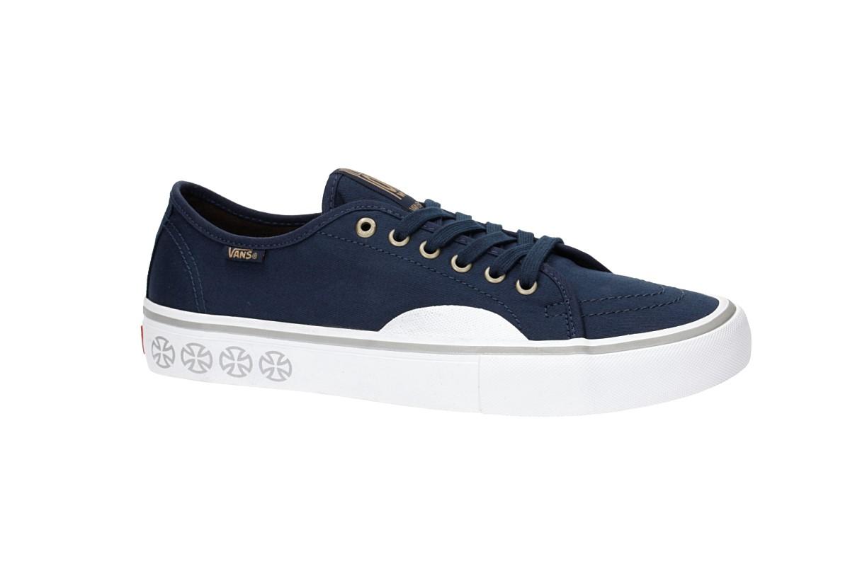fe14552d37 Vans x Independent AV Classic Pro Shoes (dress blues) buy at skatedeluxe