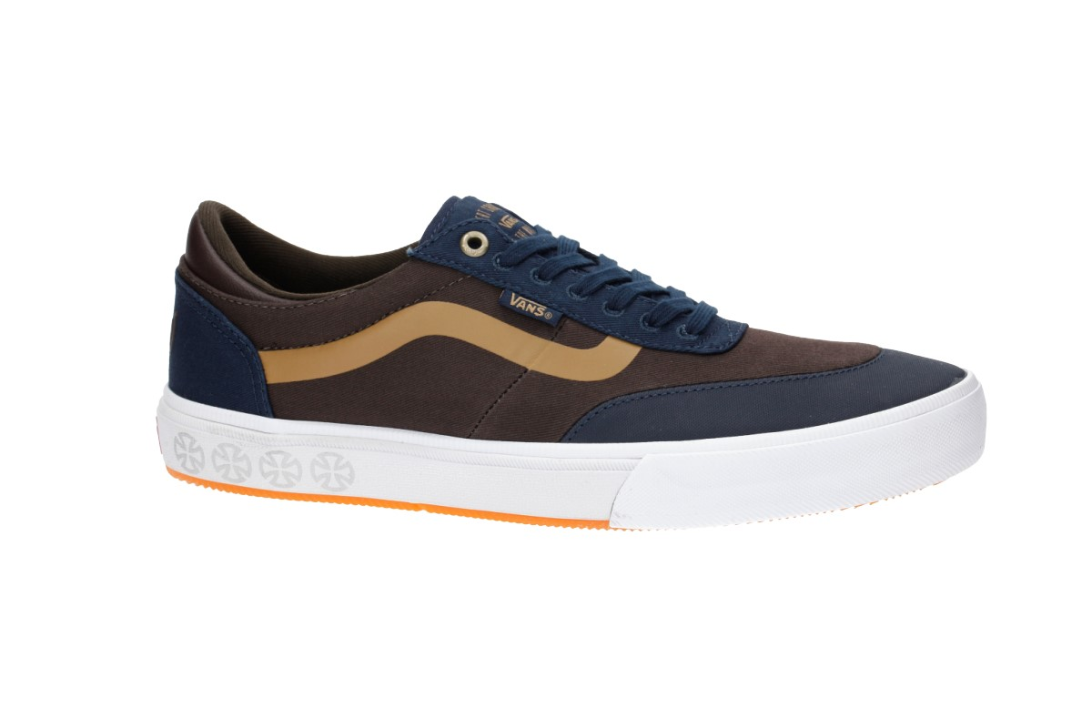 Vans x Independent Gilbert Crockett Pro 2 Shoes (dress blues demitasse) d5d9d5b0e