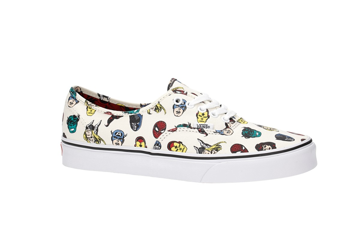 9739a79bc94969 Vans x Marvel Authentic Shoes (marvel heads multi 2) buy at skatedeluxe
