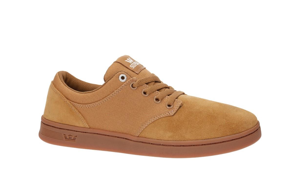 Supra Chino Court Shoes (tan gum)