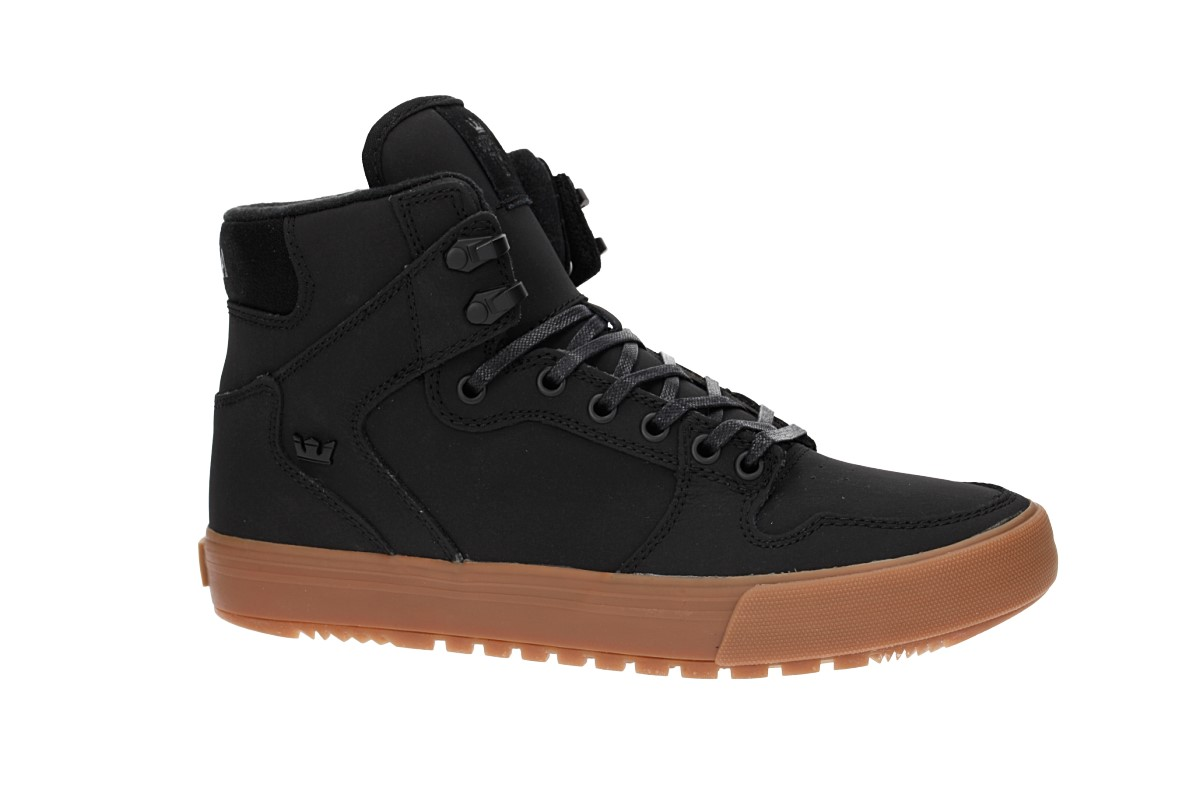 Supra Vaider CW Shoes (black black gum)