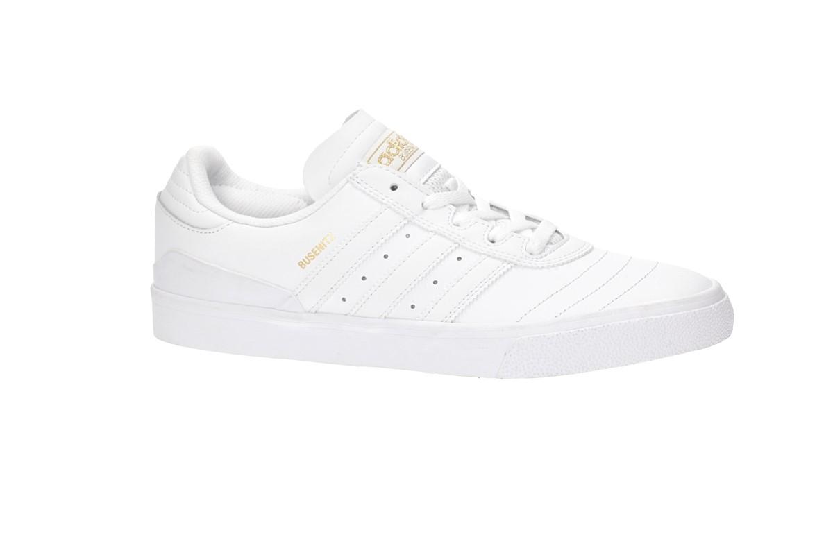 adidas Skateboarding Busenitz Vulc Scarpa (white white gold)