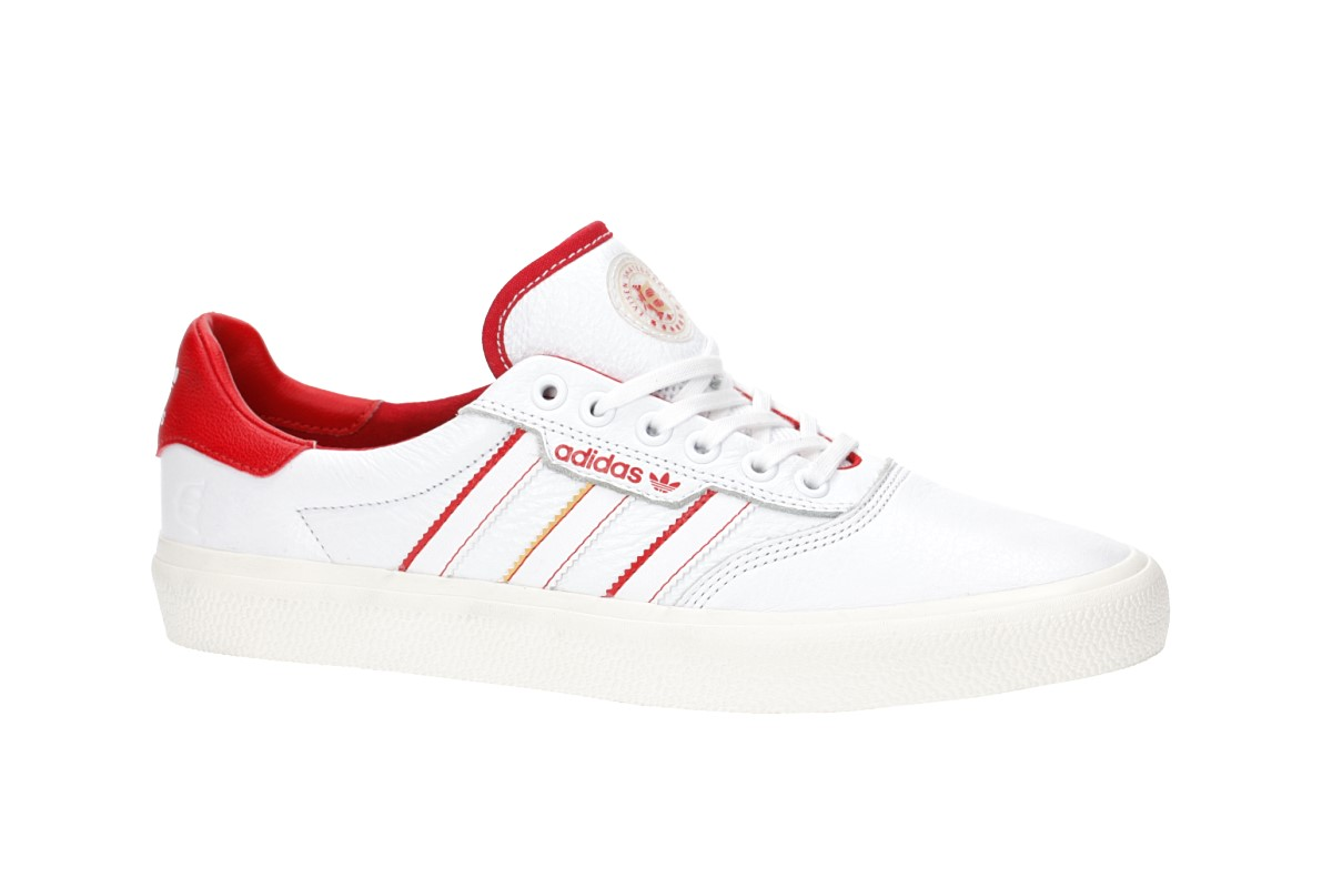 the best attitude ebb16 0074d adidas Skateboarding x Evisen 3MC Shoes (white scarlet gold)