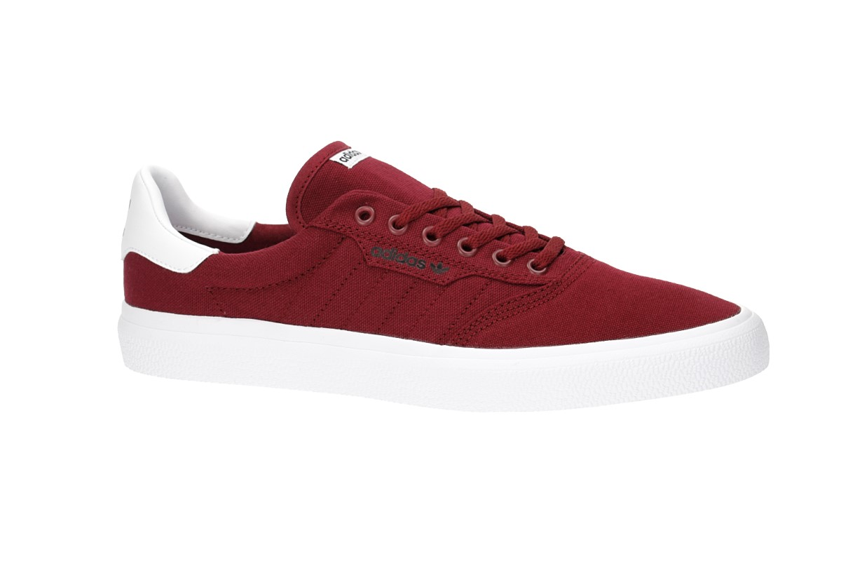 adidas Skateboarding 3MC Schoen (collegiate burgundy white)