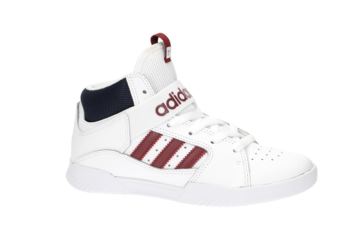 adidas Skateboarding VRX Mid Shoes kids (white scarlet navy)