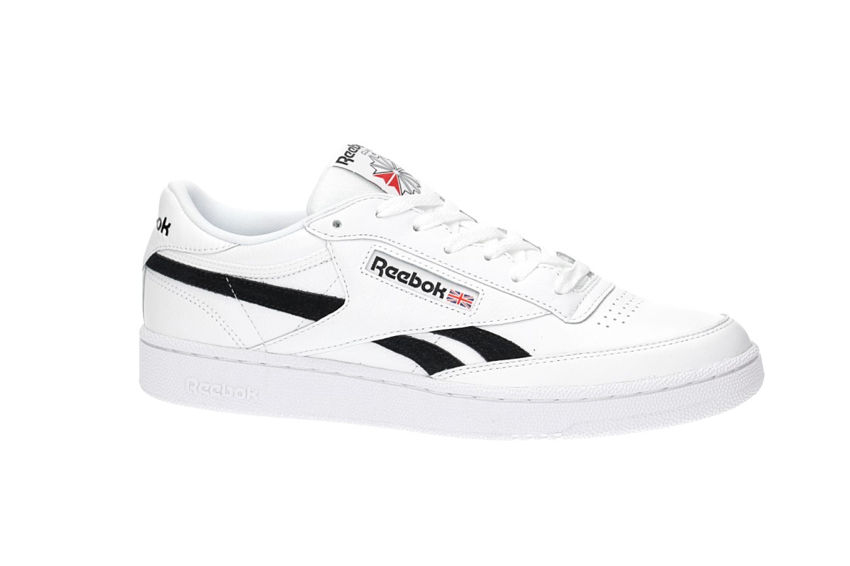 8a636d471a6382 Reebok Revenge Plus Shoes (white black) buy at skatedeluxe
