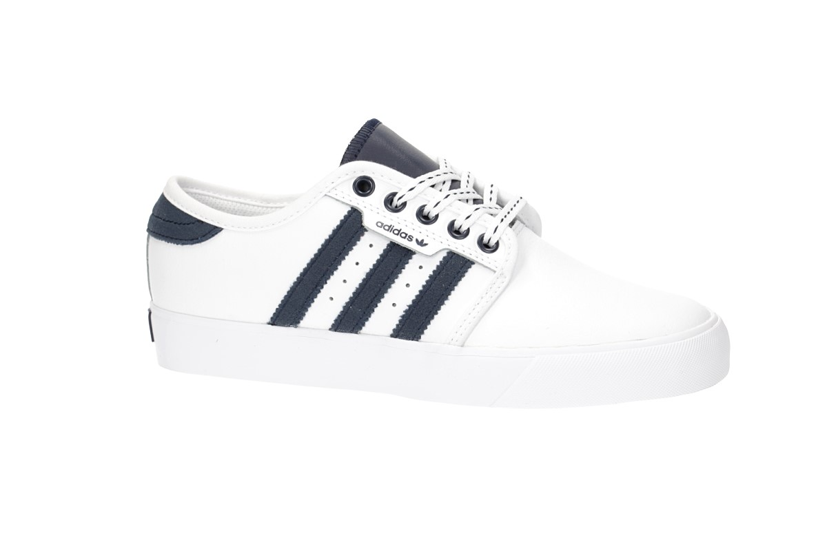 cee39f2327c adidas Skateboarding Seeley Shoes kids (white navy gum) buy at ...