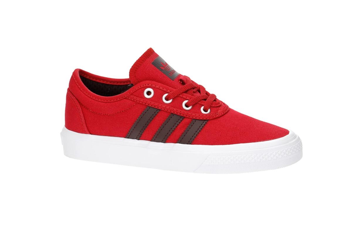 adidas Skateboarding Adi Ease Shoes kids (scarlet night red white)