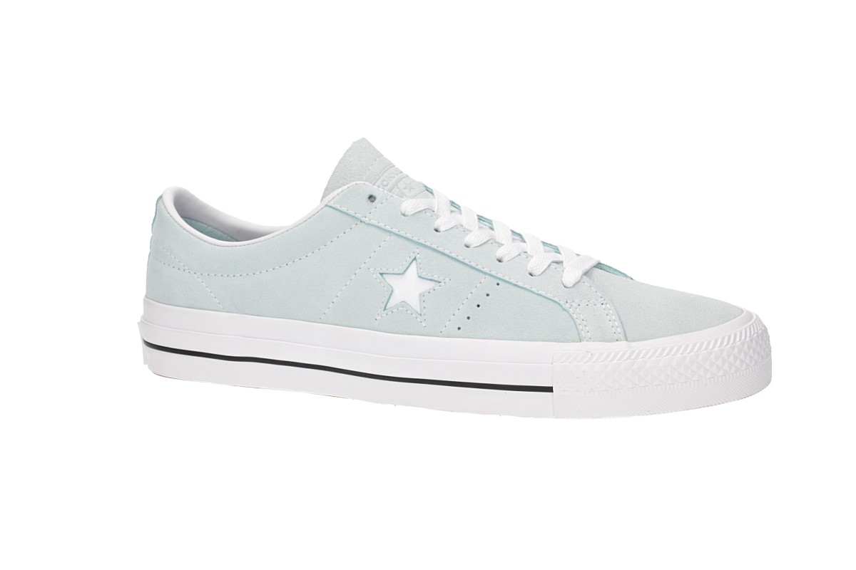 Converse CONS One Star Pro Ox Schuh (teal tint black white)