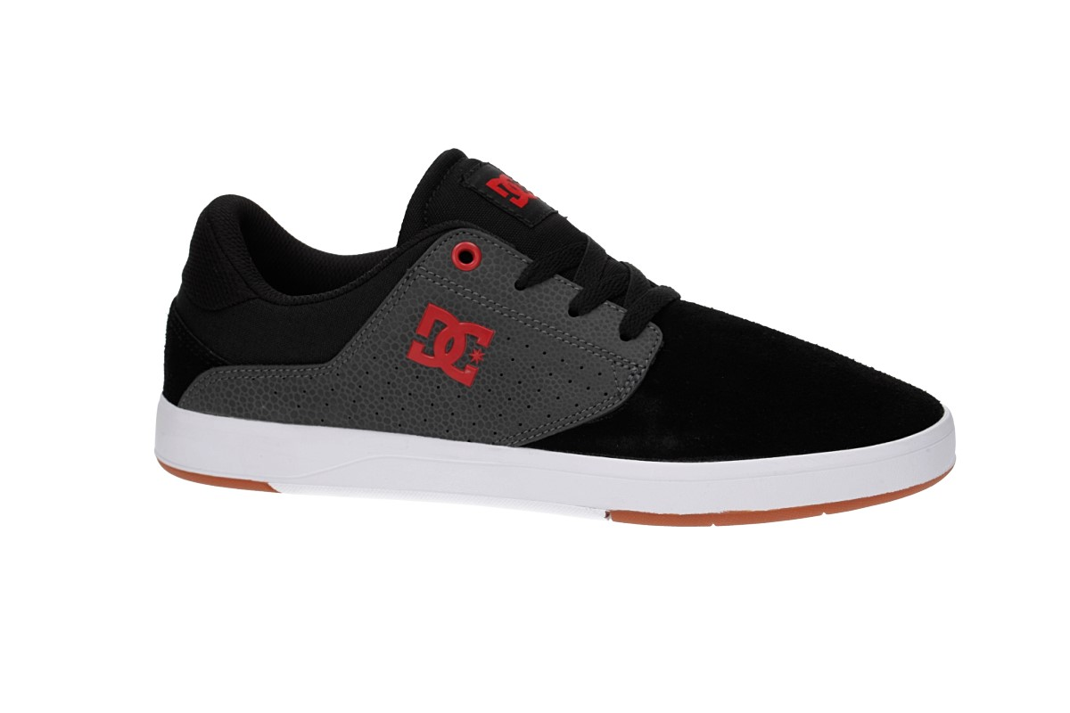09421a5b39a DC Plaza TC S Shoes (black dark grey athletic red) buy at skatedeluxe