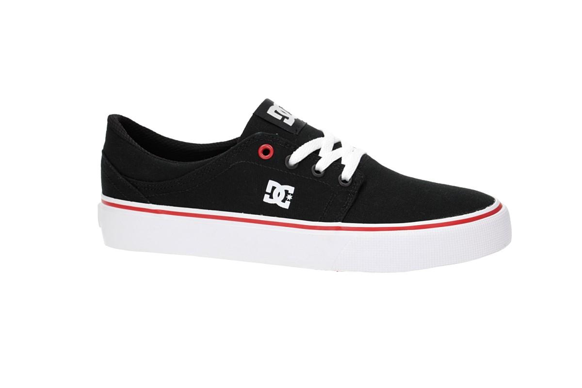 DC Trase TX Shoes women (black white red)