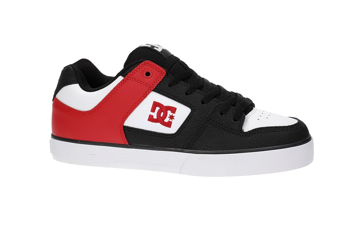 DC Pure Shoes (black athletic red)