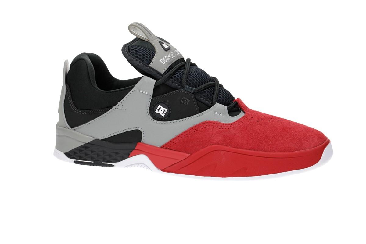 b6d39a01a26f1 DC Kalis S Shoes (red black grey) buy at skatedeluxe